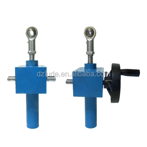 Worm gear machine screw jacks are the workhorses of the lifting industry, available in static capacities up to 250-tons.