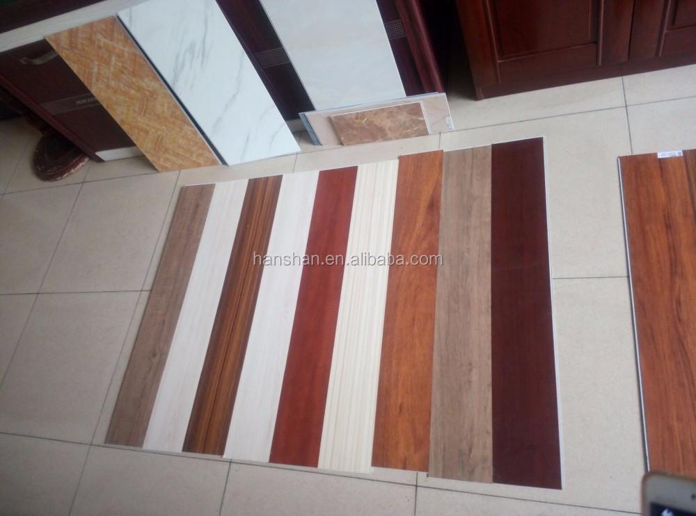 Voc gratis klik lock pvc vinyl plank floor klik vinyl vloer