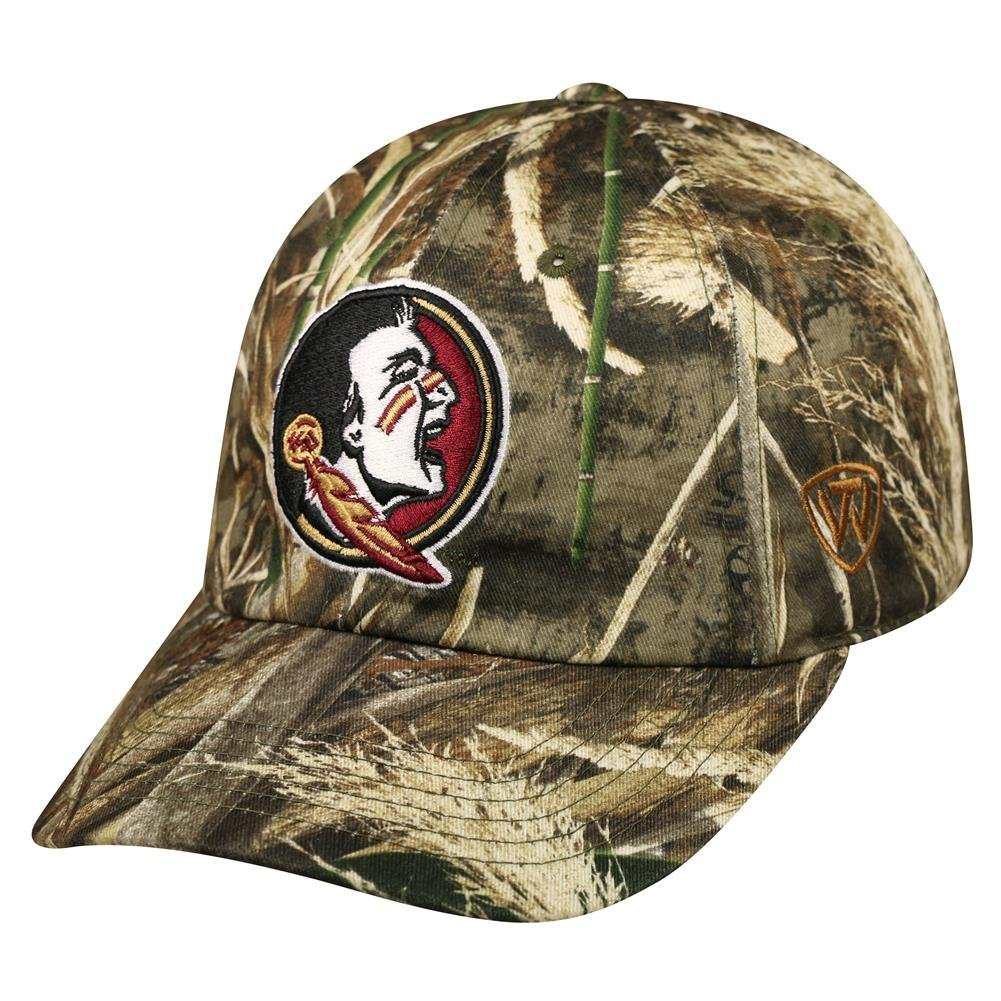 Buy FSU Florida State University Bucket Hat Realtree Camo Boonie Max ... 6ab8a65cc78