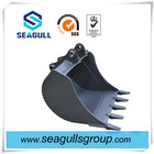 Hot sale EX135 mini excavator clamshell bucket for wholesale