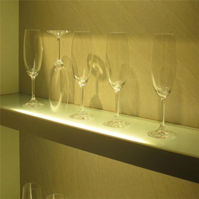 Acrylic Led Lighted Bar Shelf,Shelf With Built-in Light 3w 12v ...