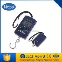 40kg Portable LED Digital Hanging Fishing Weighing Hook Luggage Scale