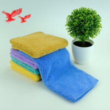 China Factory Wholesale Customized Size Quick Dry Absorbent Microfibre Kitchen Cloth