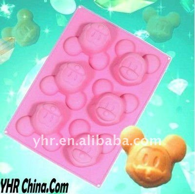 Silicone Mickey Mouse Cookie Pan