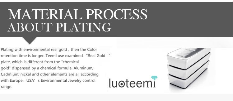 LUOTEEMI Fashion White Gold Plated AAA+ Cubic Zirconia Stone Earrings and Necklace for Wedding Bride Jewelry Set