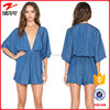 2016 women wear clothing denim playsuit for women summer wear sexy adult playsuits