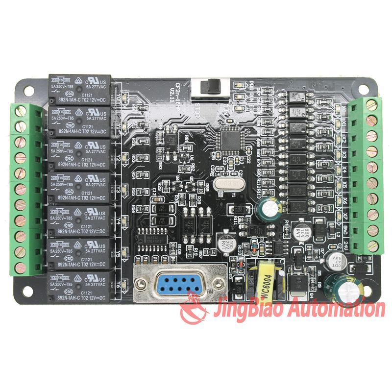 FX2N CF2N 15MR contrôleur logique programmable 8 entrées 7