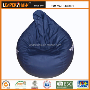 Classic tear drop waterproof indoor bean bag/big joe bean bag chair