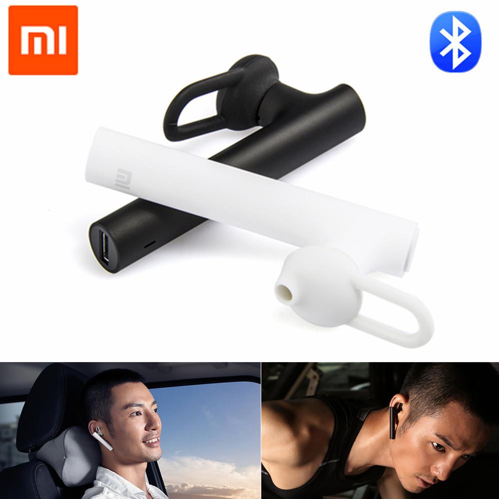 В наличии! Оригинал Xiaomi связь Bluetooth гарнитура Bluetooth 4.1 Xiaomi Mi Bluetooth наушники строить-в Mic Handfree