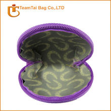 promotional gift coin zipper bag
