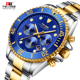Tevise T823A automatic watch wholesale luxury mechanical watch custom men wristwatches six hands men watch