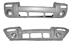 For Jeep Liberty New Facial Front Bumper Cover CH1000454 2005-2007 Raw