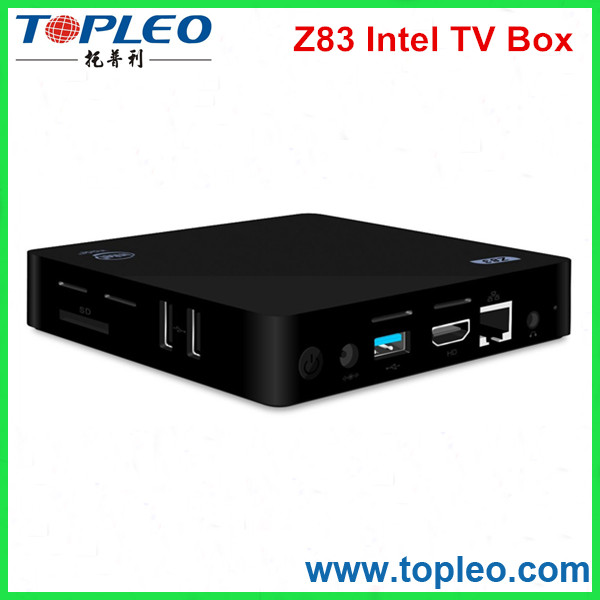 Mini Desktop PC TV Box 2GB 4GB RAM, Window 10 Home 64 Bit (Z83 (2G+32G))