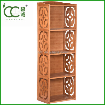 Ancient Cross Book Cabinet/bookcase Furniture/living Room Furniture 4-tier  Book Shelf Used Library Bookcases - Buy Ancient Cross Book Cabinet,Bookcase  ...
