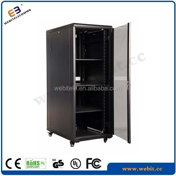 handle lock+cable managment+ WB-NC-C series 19'' network rack
