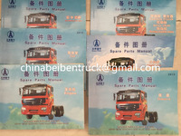 Beiben truck spare parts catalogue Beiben 2638 spares catalogue