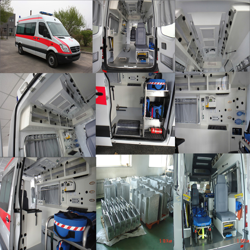 Ambulance Conversion Van Interior Kit