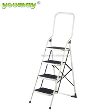 EN1C31 Steel Folding step Ladder SF0404A/outdoor iron stairs/fold step stool