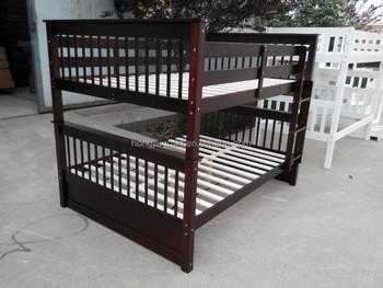 Etagenbett Mit Treppe : Queen size etagenbett treppe holz braun