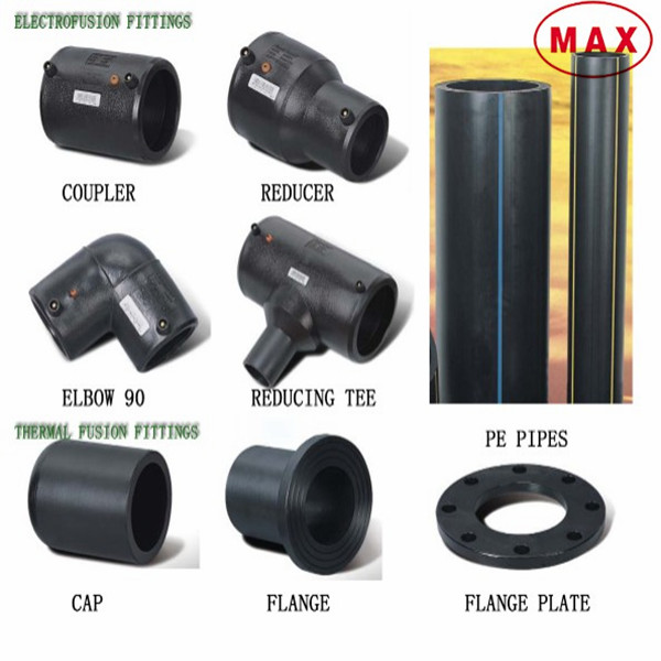 Polyethylene Hdpe Water Poly Pipe Fitting Names And Parts