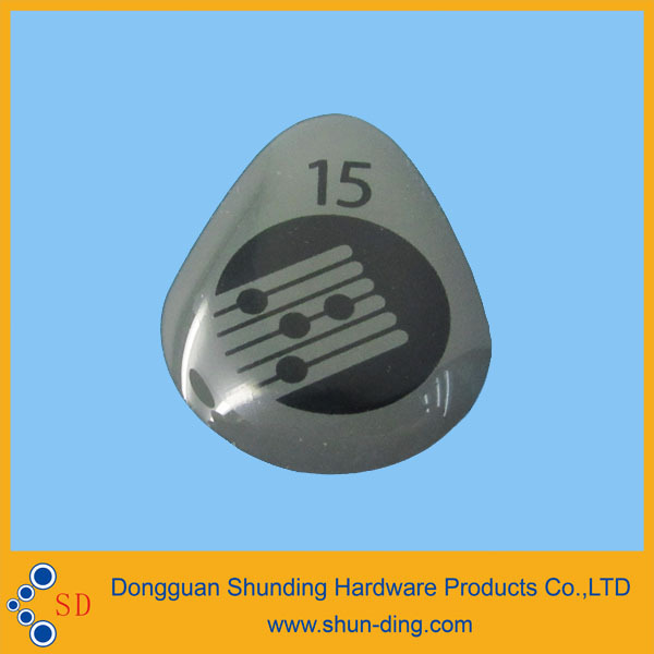 stone domed label 15