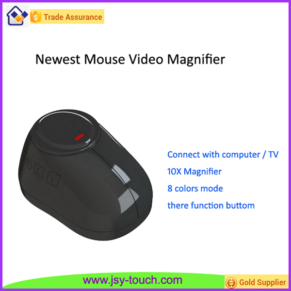 Wireless Portable Magnifier Electronic Mouse TV Video Magnifier for Visually Impaired