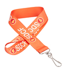 FREE SHIPPING designer cheap printed id and quality lanyards lanyard custom design