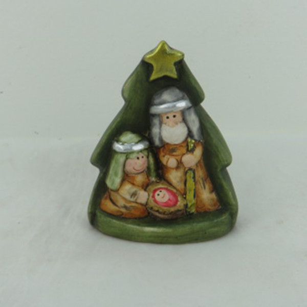 2017 most stylish hot sale ceramic christmas nativity statues for gift