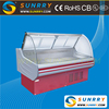 New style supermarket showcase refrigerator used for deli display in factory price (SUNRRY SY-SDS1500W)