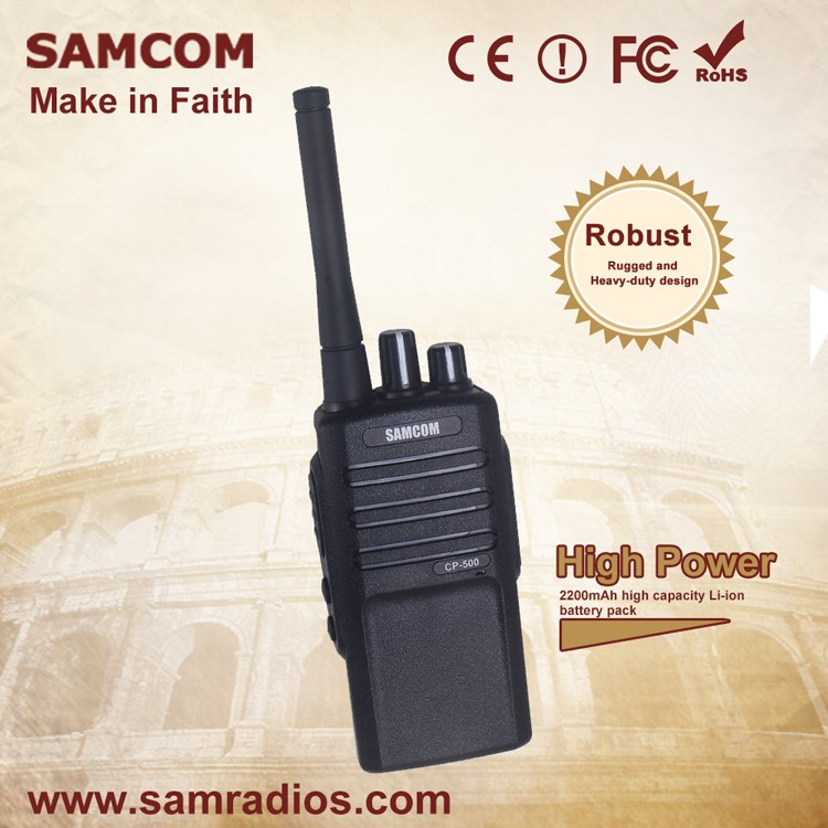 SAMCOM CP-500 D'affaires Sur place Radio Dmr Radio 2 Voies