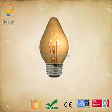 Hot selling C15 E26 120V 60W explosion-proof lights electric incandescent lamp