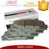 press for brake pads, brake pads made in japan auto parts for toyota camry