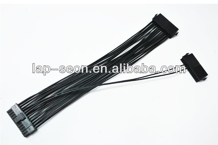 30cm 24Pin 20+4pin ATX Power Supply Adaptor Dual PSU Cable