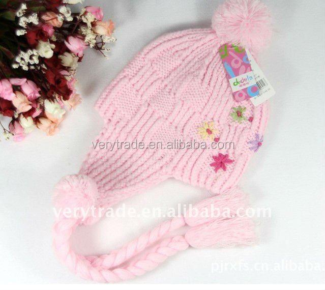rosa de invierno caliente de esqu sombrero tapa el odo