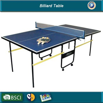 Small MDF Foldable Table Tennis Tables For Sales Price,Kettler Moving Ping  Pong Table Wholesales