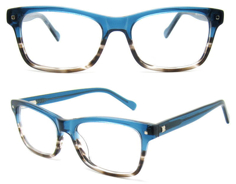 2015 new model high quality hand made optical glasses frame wholesale eyeglass frames rectangle fashion eyewear