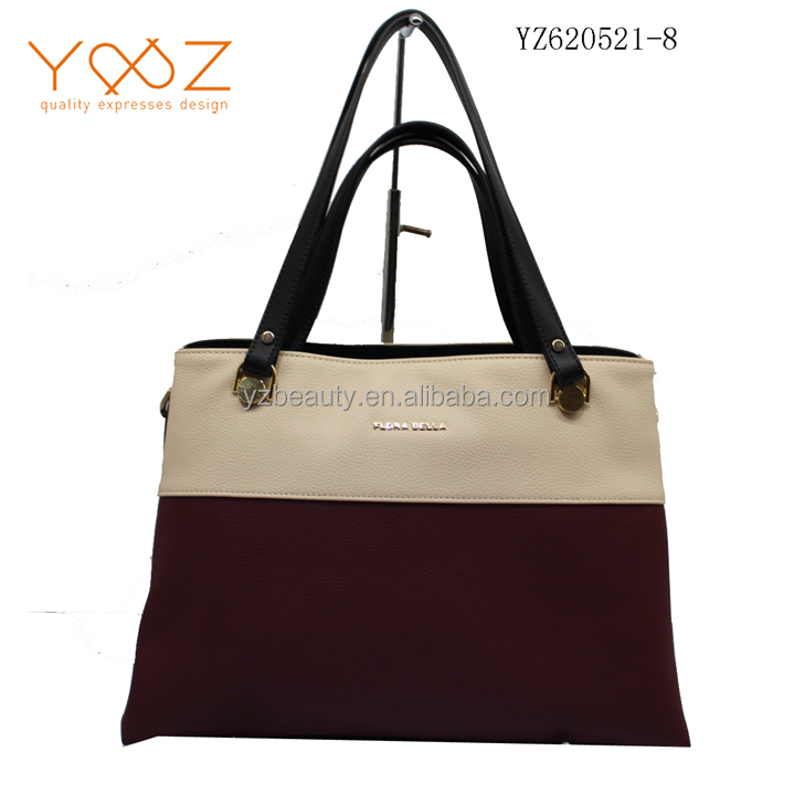 Fashion handbags, leather handbags ladies double size material women bag