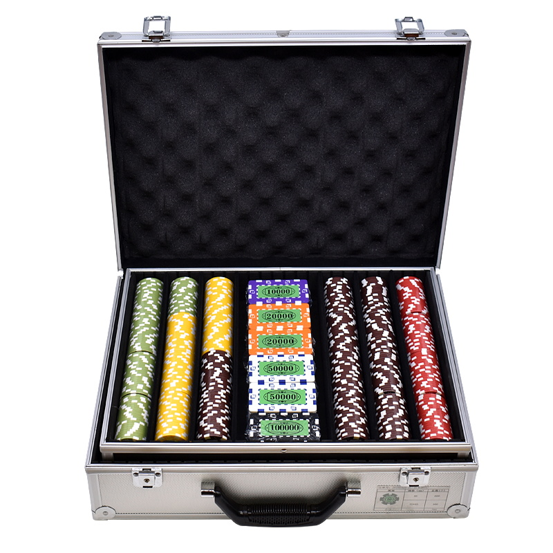 ABS Classico Casino Chip 5 Colori Texas poker chip set