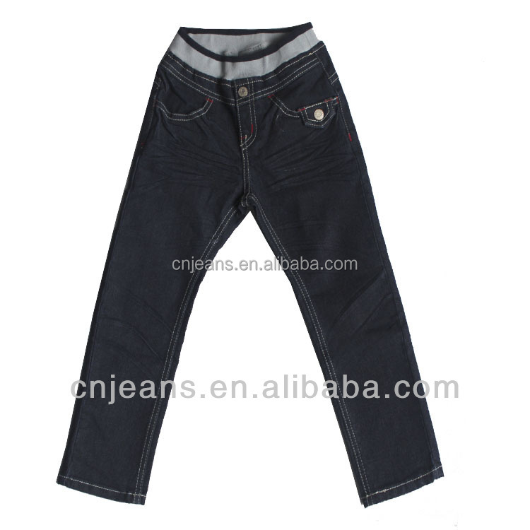 GZY Stocklot Mix Cheap kids elastic band jeans