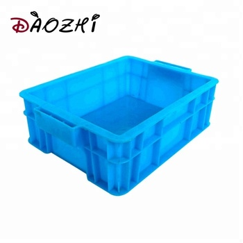 Standard Euro plastic vegetable potato accessories turnover moving crate for fruit