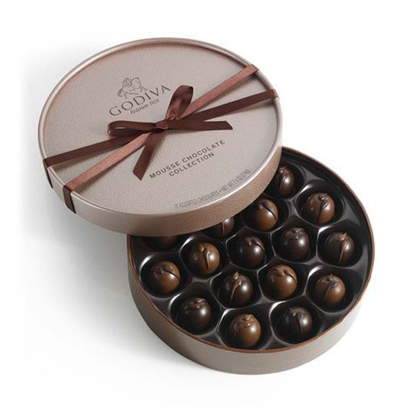 Nice Design Elegant Decorative Beautiful Noble Round Paper Chocolate