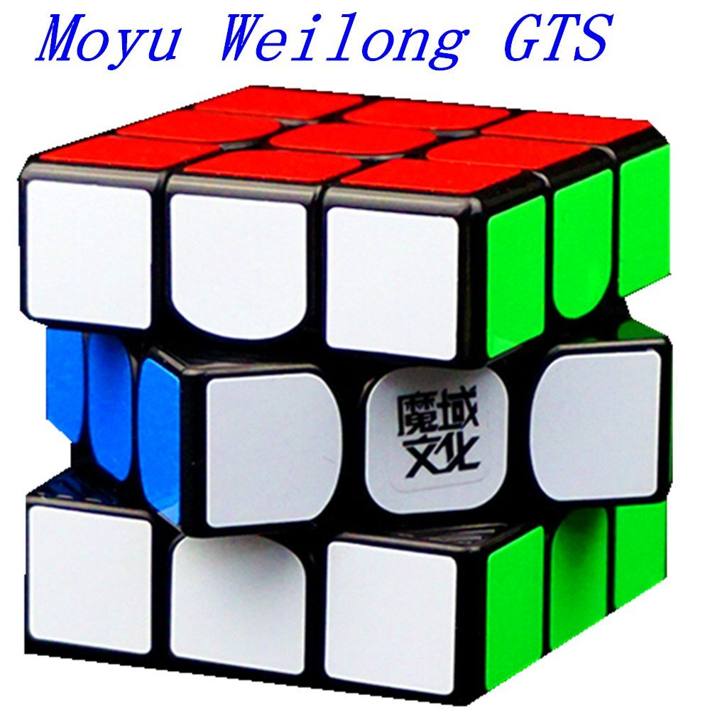CuberSpeed MoYu WeiLong GTS Black 3x3 Magic cube 3x3x3 Speed cube Puzzle