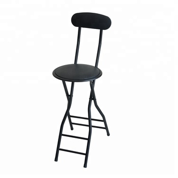 2018 Wholesale black modern bar stools tall chair