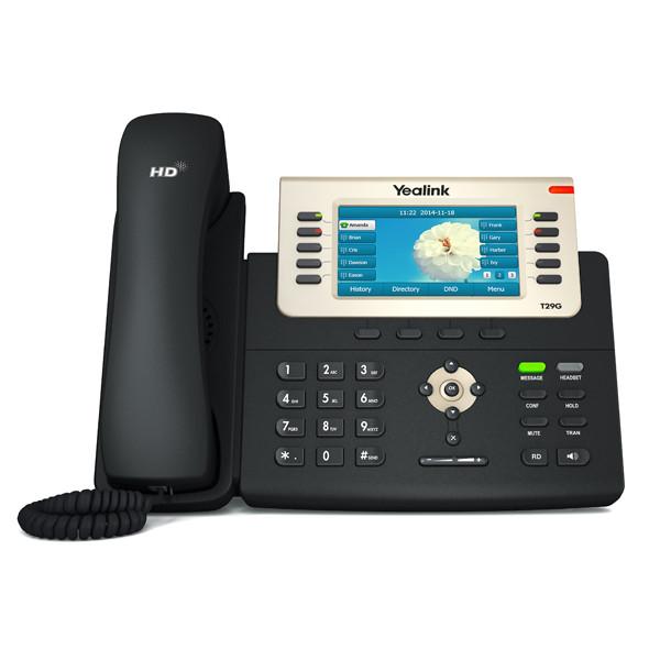 L'entreprise HD Téléphone IP Yealink SIP-T29G