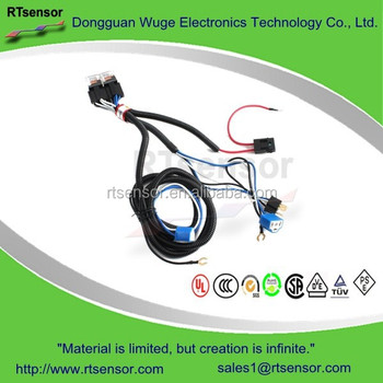 Car H4 9003 Headlight Relay Harness Wire With Controller Connector  Electronics Leash Relaywiring Diagram on
