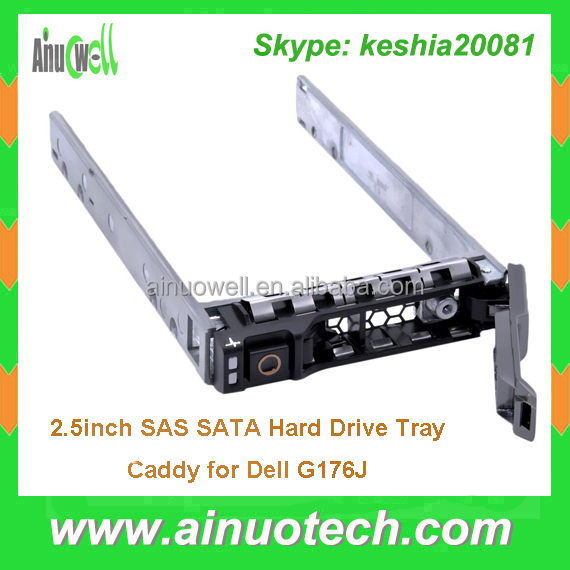 Brand New 2.5'' SAS SATA HDD Caddy G176J For Dell PowerEdge R900 R610 MD1220 M910 M610X MD3220I Hard Drive Tray