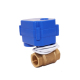 2-way 12v motorized ball valve electric actuator brass water valve automatic shut off motor control valve