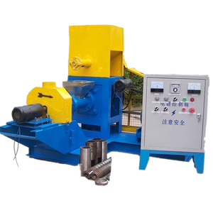 Animal fish feed pellet press making machine production line