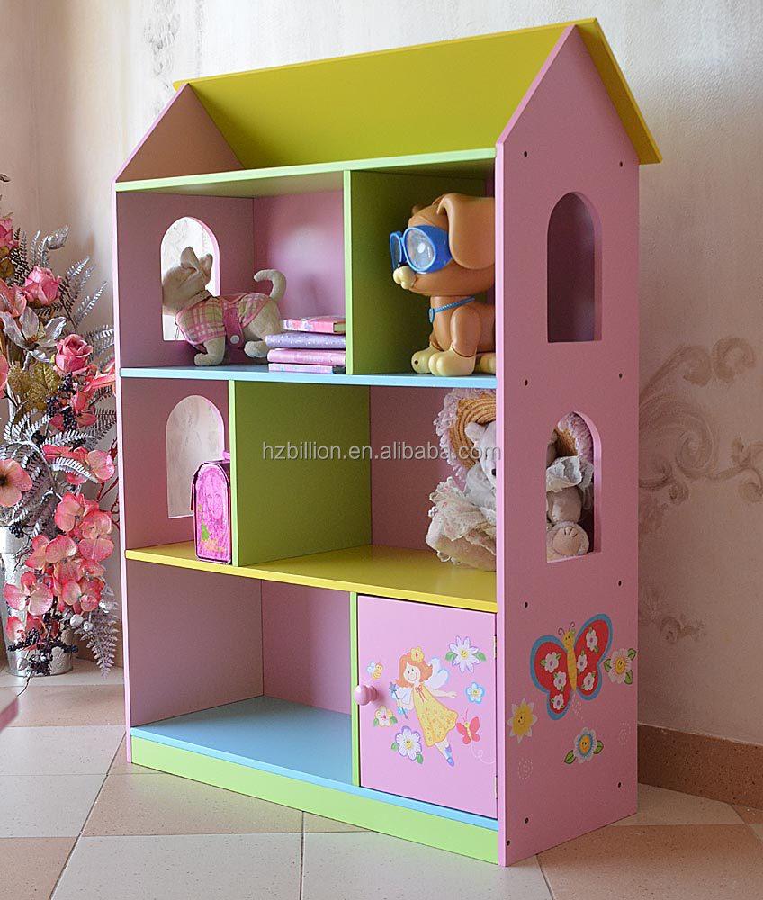Casa 3 Madera 12 Buy Librería La Muñecas Encantadora Años Hadas Hada Los Niños Muebles De xrdhtsQC