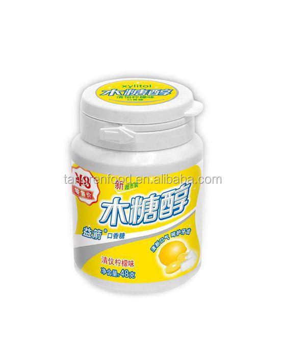 Barato por atacado goma de mascar dentyne com açúcar de cana